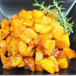Sweet and Savory Roasted Butternut Squash –