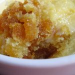 Syrup Sponge Pudding - 6 Minute Microwave Recipe   A Glug of Oil