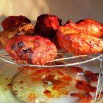 Tandoori Chicken prepared in Microwave – My Food World