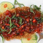 Crispy Tilapia with Spicy Thai Basil Sauce – Palatable Pastime Palatable  Pastime