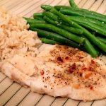 Lemon and Red Pepper Baked Tilapia – Gravel & Dine