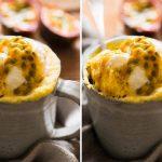 Passionfruit microwave mug cake recipe - Kidspot
