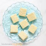 VANILLA FUDGE: Easy 4-ingredient microwave vanilla fudge recipe!