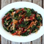 SAUTEED SWISS CHARD WITH ONIONS – The Weathered Grey Table