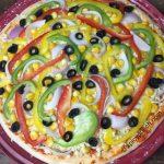 veg pizza recipe | authentic best homemade vegetarian pizza