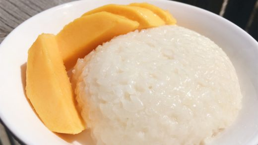 Sweet Thai Coconut Sticky Rice and Mango – sus by the universe