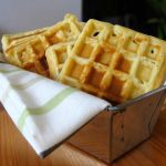 Waffles and easy microwave strawberry syrup   The Cookie Shop
