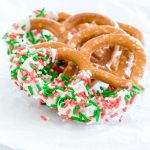 White Chocolate Covered Pretzels | Recipes From A Pantry