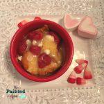 Recipe Box, Aloha Raspberry Bread Pudding Ramekins with Vanilla Cream | The  Painted Apron