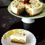 Fusion dessert – Gulab Jamun Cheesecake ..For a special occasion   Food and  Fiction