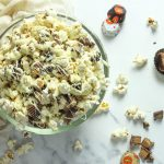 Homemade Reese's Peanut butter Popcorn - My Eager Eats