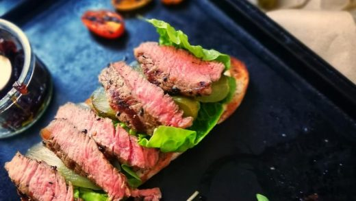 Steak Sandwich-irish beef steak-sourdough-Recipes@the brokenoven | The  broken oven simple & tasty recipe ideas