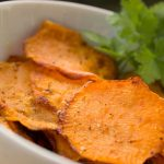 Microwave Sweet Potato Chips - Forever Natural Wellness