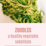 A Tasty Zoodle Recipe - Heather Barrett