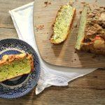 Savoury zucchini bread loaf recipe
