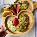 Aromatic zucchini balls - Panos Eats