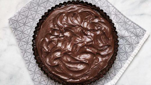Dark Chocolate Fudge with Sea Salt - Finding Zest