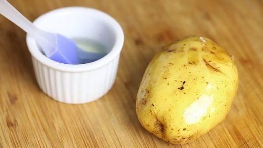 How to Bake a Potato in the Microwave: 9 Steps (with Pictures)