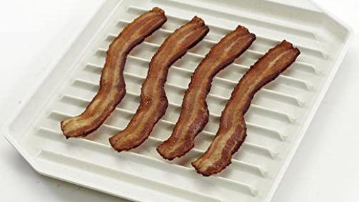 Microwave Cooking Gadgets Details about Microwave Bacon Rack with Lid Hot  Dog Sausage Grill Pan Tray Cooker Cookware USA Home & Garden