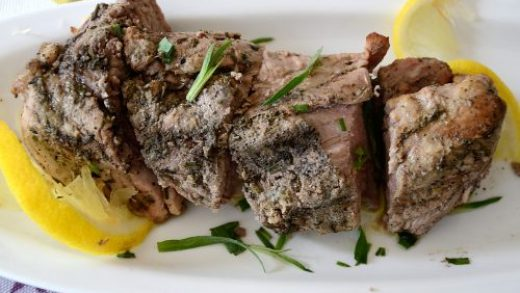 Lemon Oregano Pork Tenderloin - The Wine Lover's Kitchen