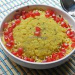 Instant Sev Khamani in Microwave Recipe   Magic of Indian Rasoi