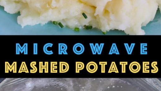 15 Minute Microwave Mashed Potatoes {Fluffy & Creamy!} - TipBuzz