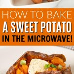 Microwave sweet potato recipe - delicious microwave sweet potatoes