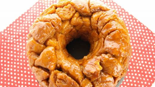 Microwave Monkey Bread - Mom's Recipe - The Soccer Mom Blog