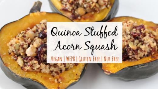 Stuffed Acorn Squash Recipe | Simply Plant Based Kitchen