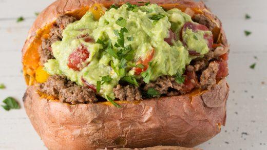 Mexican Stuffed Sweet Potatoes (GF, Paleo, Whole30) | Hot Pan Kitchen