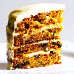 Carrot Cake with White Chocolate Cream Cheese Frosting • Cook Til Delicious