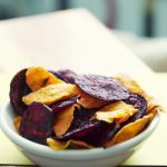 The Perfect Pear: Beet and Carrot Chips! (made in the microwave!!)