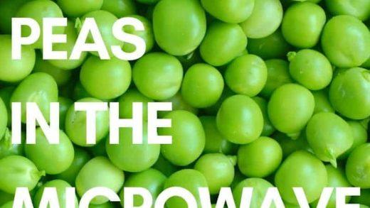 A Basic Cook - Microwaved Peas