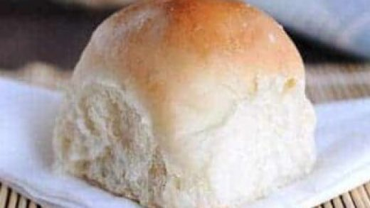 Wool roll bread; fluffy and soft bread - PassionSpoon