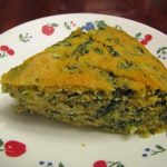 Cornbread With Turnip Greens & Hot Peppers – VegCharlotte