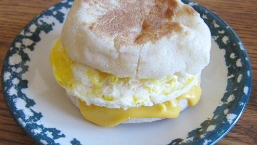 Homemade Egg McMuffin