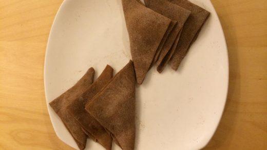 Cinnamon Mochi Triangles (Yatsuhashi) | A Dance of Desserts