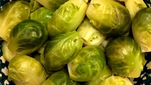 How to Store, Clean and Steam Brussels Sprouts - Bowl Me Over