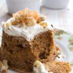 Keto Carrot Cake For Two (Sugar Free) – Sugar Free Londoner