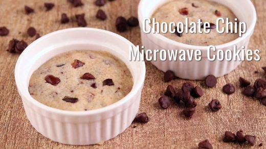 Chocolate Chip Cookie in a Mug   A Virtual Vegan