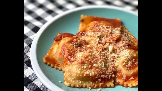 Making Fresh Ravioli in the KitchenAid Ravioli Maker - The Good Plate