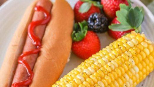The corn identity: Pan-roasting kernels boosts flavor