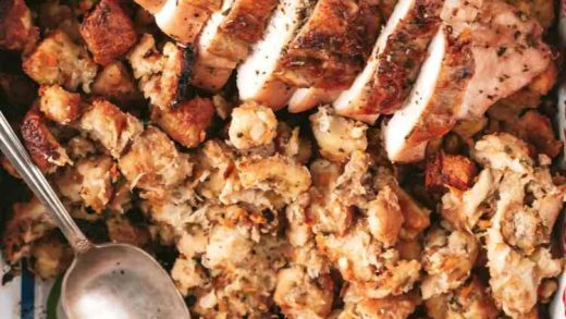 how to make a small turkey and stuffing dinner » the practical kitchen
