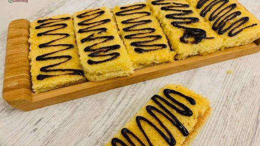 Easy fast 7 spoon cake recipe | Torta & Jato | LolliTaty