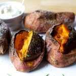 How To Microwave A Sweet Potato (Easy Recipe)   KitchenSanity
