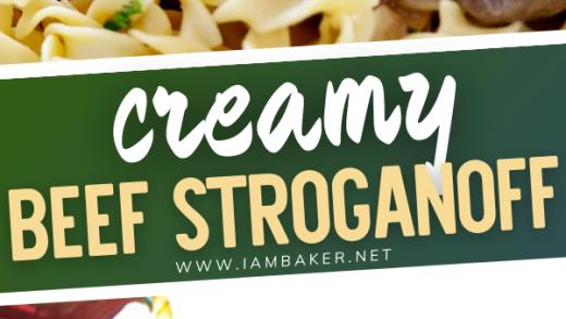 Beef Stroganoff | Beef stroganoff, Beef, Comfort food