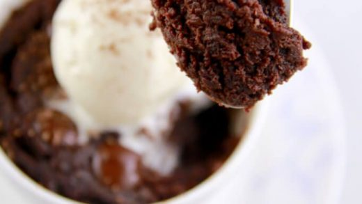 Microwave Brownie Recipe in 8 Minutes   Two Kooks In The Kitchen