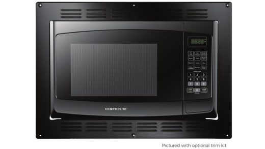 CONTOURE MID-SIZE 0.9 / 1.0 CU.FT Built In Black Microwave Oven Instruction  Manual - Manuals+