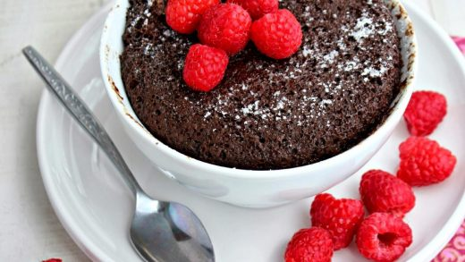 Kitchen Simmer: 2 Minute Chocolate Mug Microwave Cake