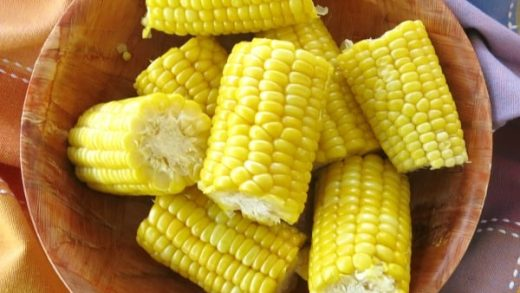 Microwave Corn on the Cob in Husk - No Messy Silk! - The Dinner-Mom